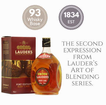 LAUDER'S RUBY PORT EDITION ~ SCOTLAND