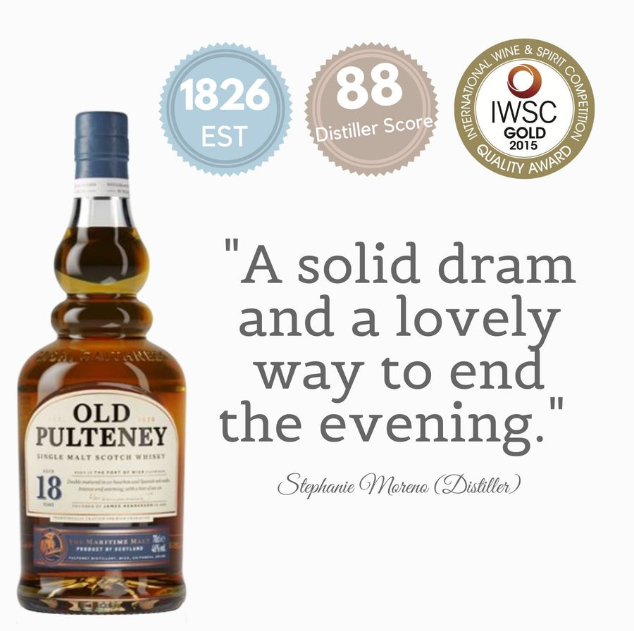 OLD PULTENEY 18Y ~ HIGHLAND, SCOTLAND