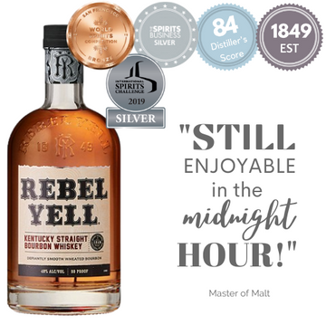 REBEL YELL KENTUCKY STRAIGHT BOURBON ~ KENTUCKY, USA