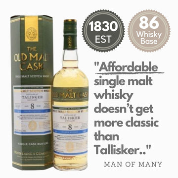 Affordable Tallisker whisky. A classic whisky available for same-day delivery from Noble Whisky in Singapore.