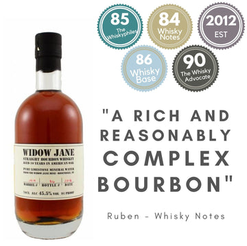 WIDOW JANE AGED 10 YEARS BOURBON ~ NEW YORK, UNITED STATES