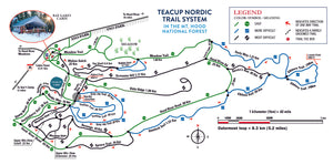 Updated Teacup trail map
