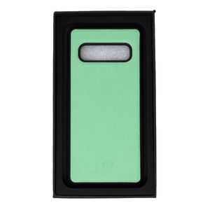 Mint Saffiano Galaxy S10