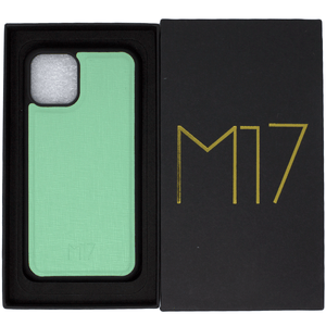 Mint Saffiano iPhone 11 Pro