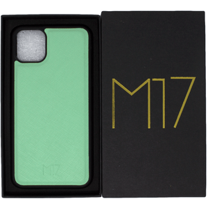 Mint Saffiano iPhone 11 Pro Max