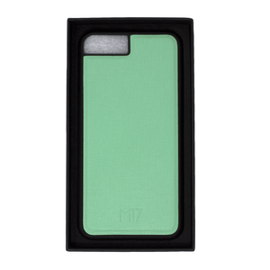 iPhone 6/7/8 Plus Saffiano Menta Pintado a Mano