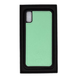 Mint Saffiano iPhone XR