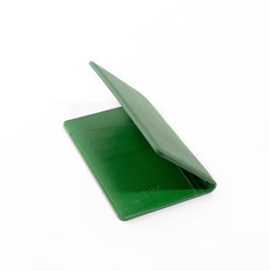Green Milano Passport Holder