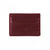 Wine Red Milano Cardholder