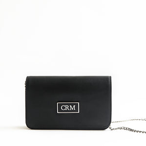 Black Amalia Shoulder Bag