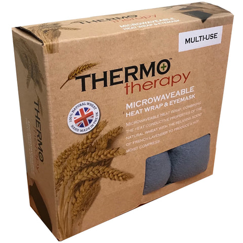 ThermoTherapy Large Heatwrap & Eyemask Set with Lavender