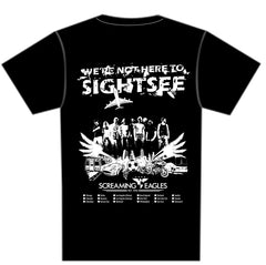 Road Trip T-Shirt - We're Not Here to Sightsee (clean version)