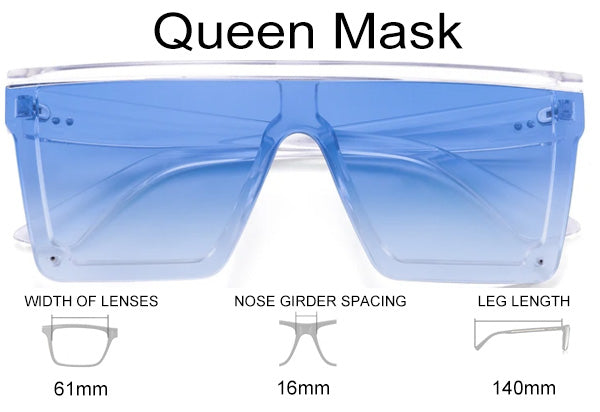 Queen Mask Sunglasses