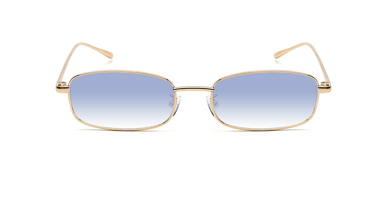 gold | 8 mirror gradient blue
