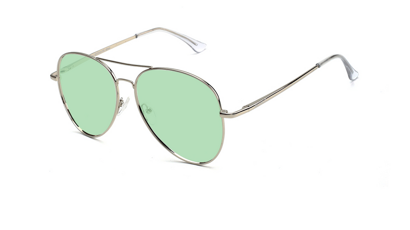 silver | 40 jelly green