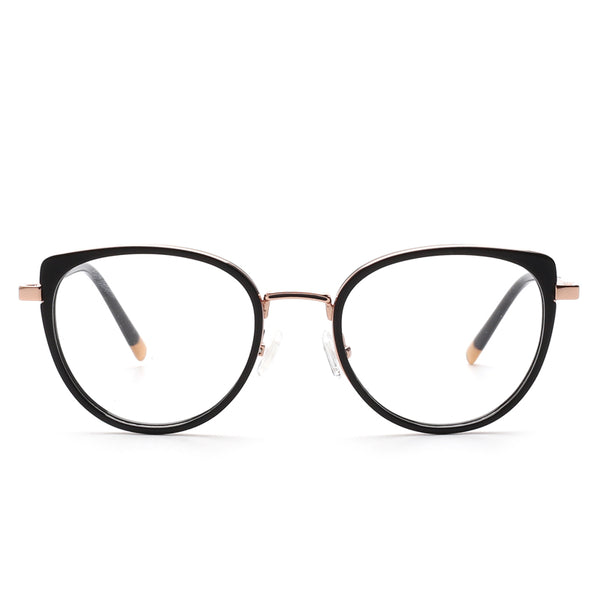Round Blue Light Glasses | Mavis