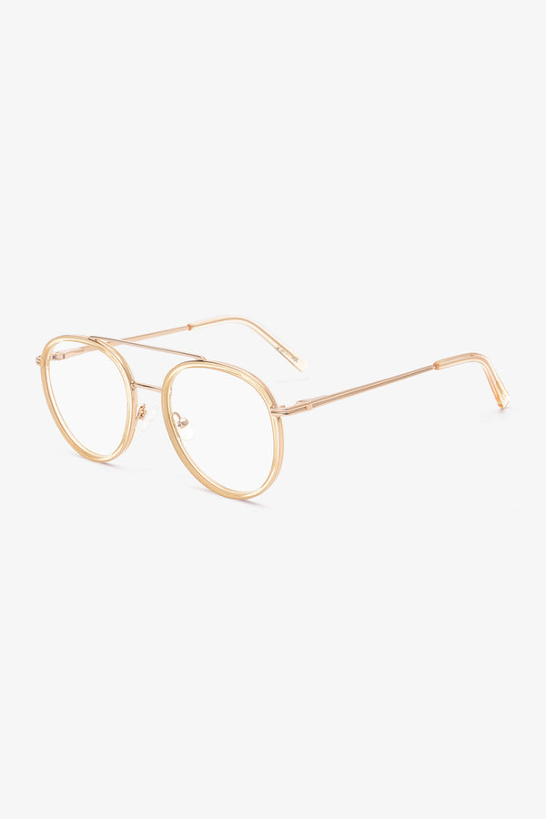 Round Blue Light Glasses | Hania