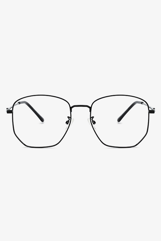 Polygon Metal Eyeglasses | Bononia