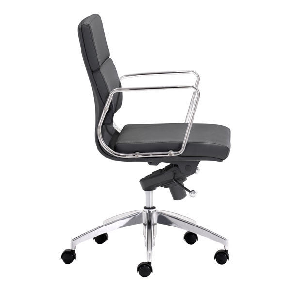 Engineer Low Back Office Chair Black The Modern Source