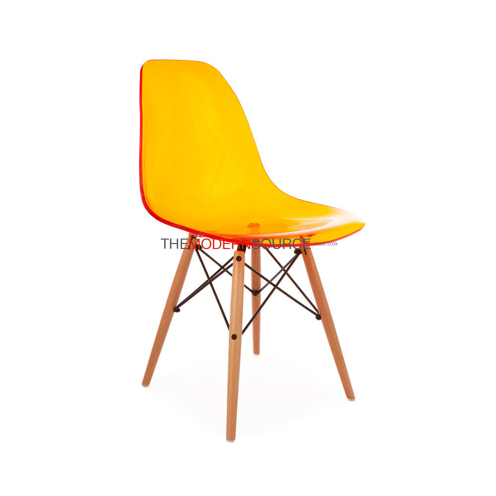 Eames dsw side chair eames reproduction mid century for Dsw eames reproduction