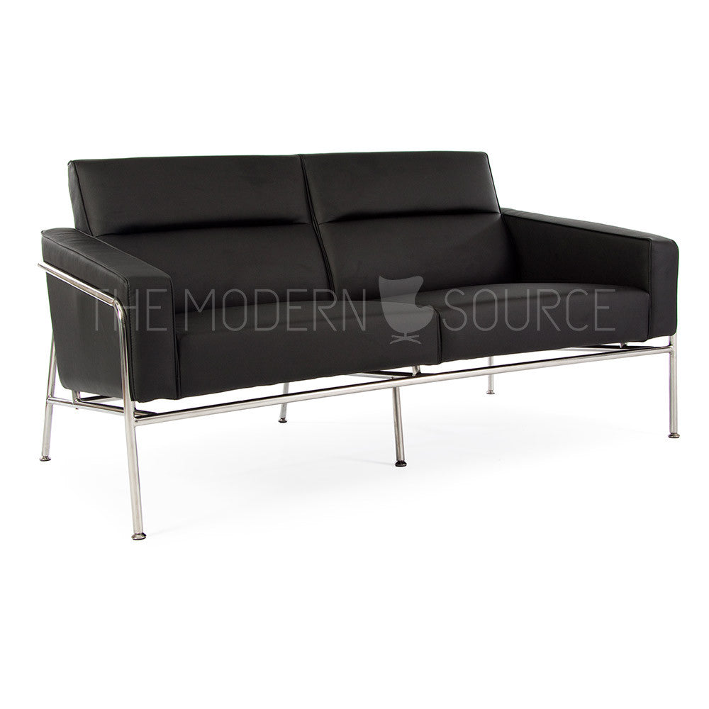 Arne jacobsen 3300 series loveseat reproduction the for Arne jacobsen reproduktion