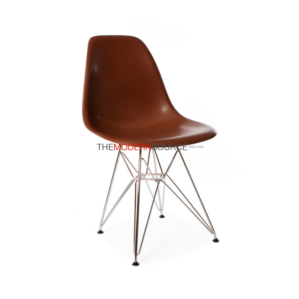 Eames DSR Side Chair Reproduction Eames Reproduction  : DSR COFFEE 1 from www.modern-source.com size 1000 x 1000 jpeg 30kB
