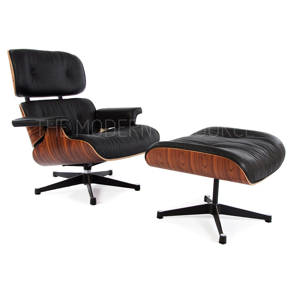 eames lounge chair  ottoman reproduction  the modern source - eames lounge chair  ottoman reproduction  the modern source