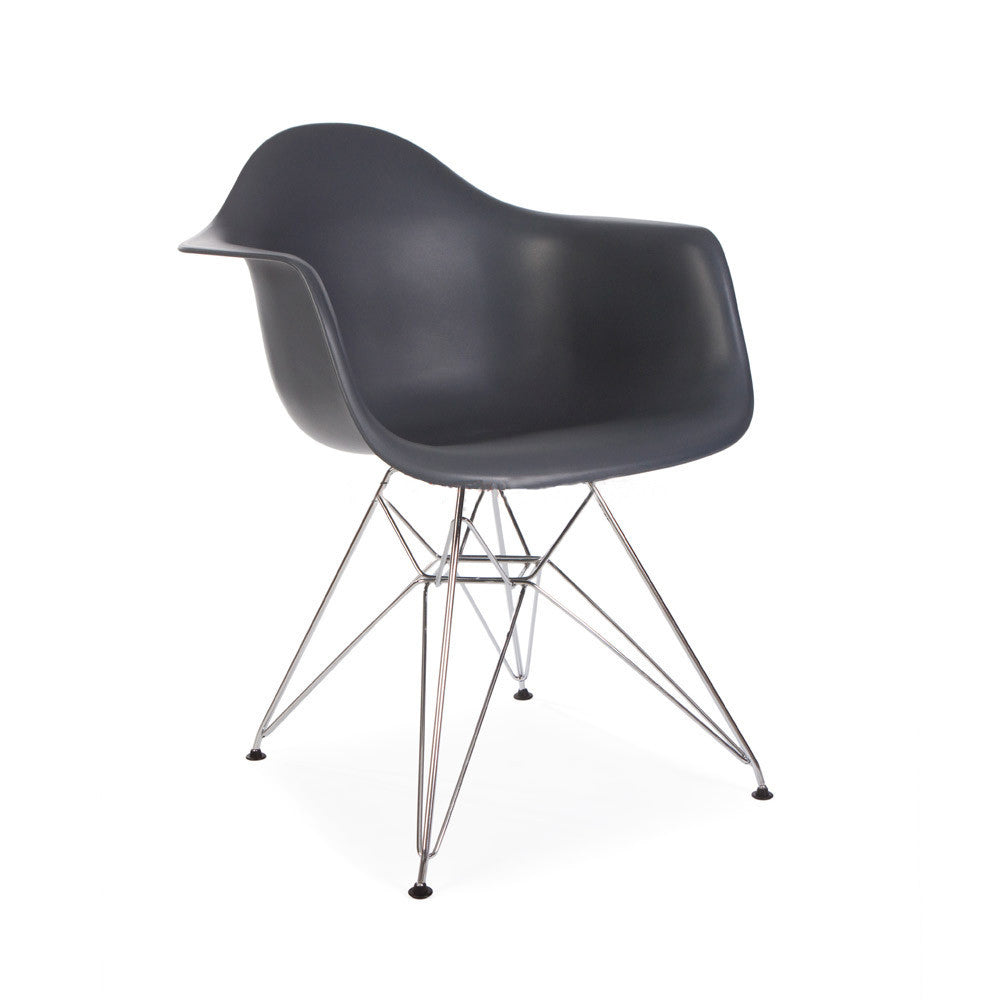 Eames dar armchair eames reproduction mid century for Eames reproduction