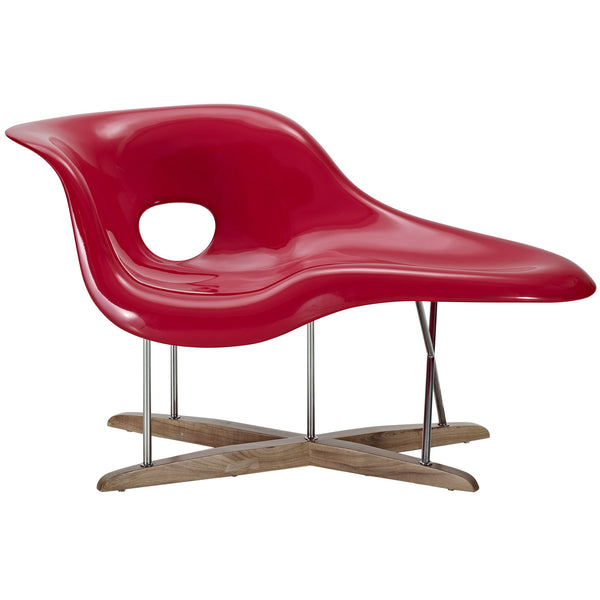 Eames la chaise reproduction the modern source for Chaise reproduction eames