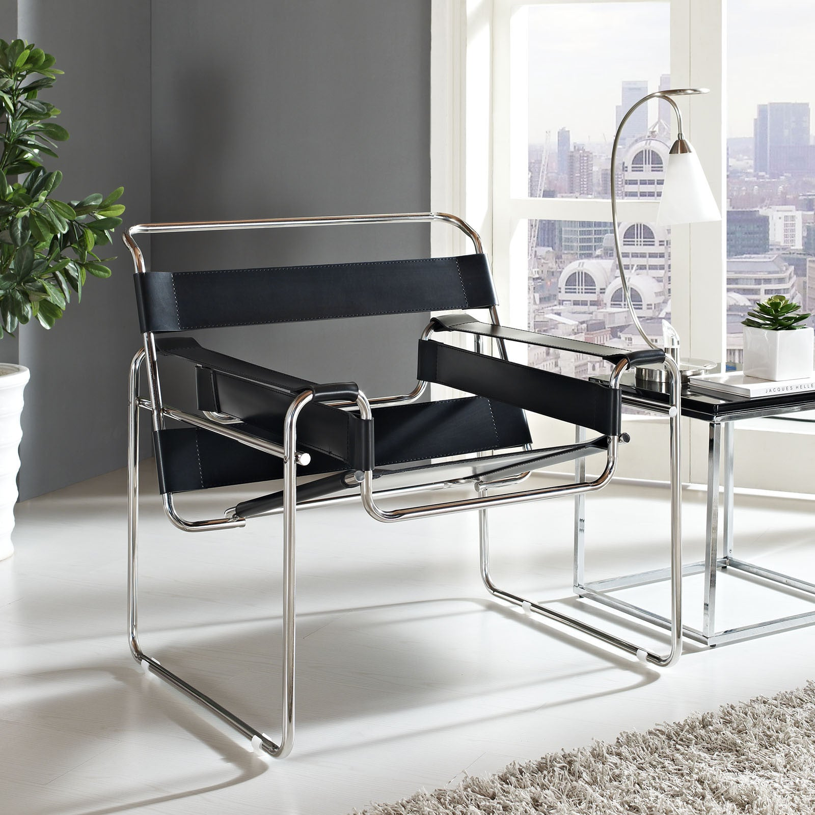 Wassily chair reproduction the modern source for Stuhl design bauhaus