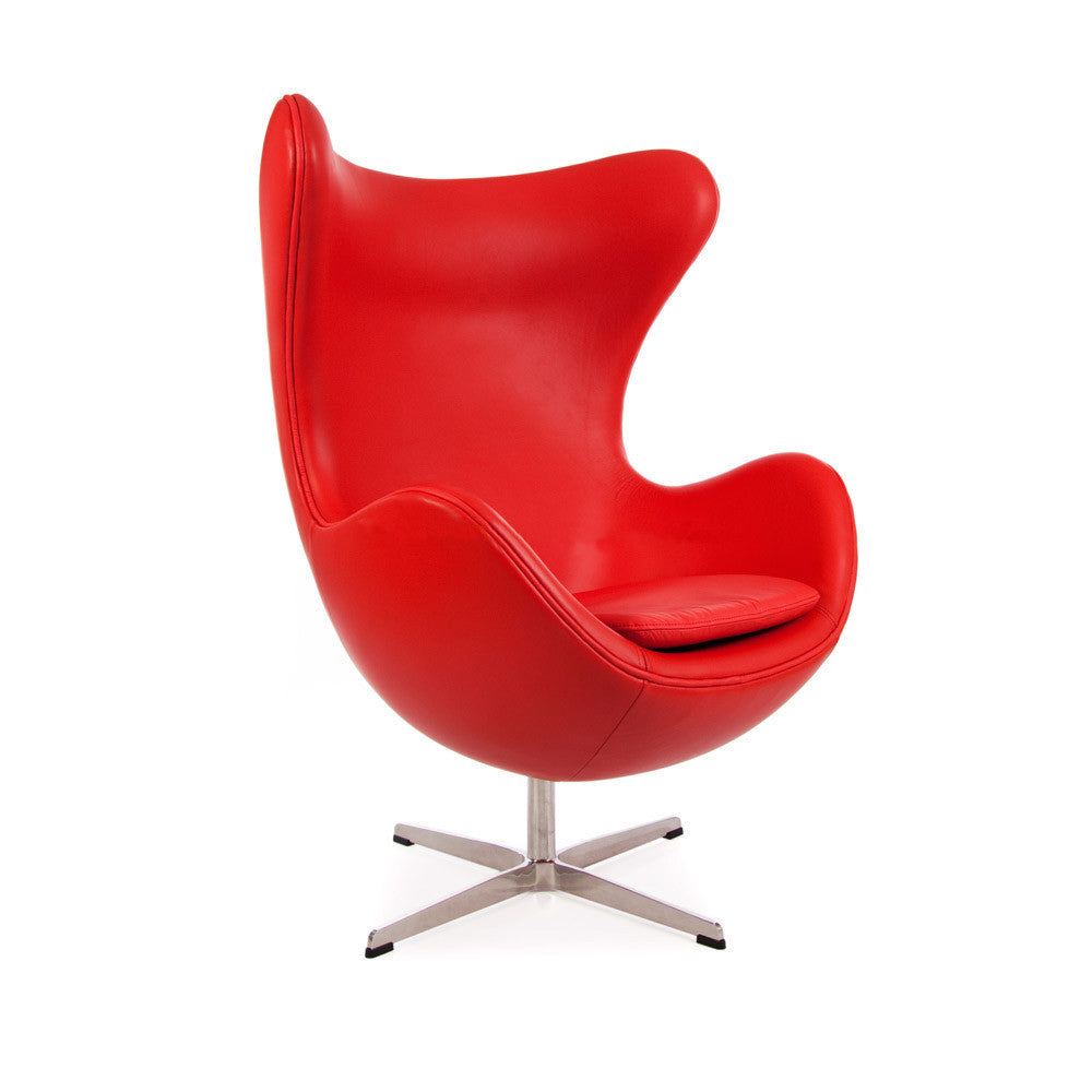 Merveilleux Egg Chair Reproduction ( Leather )   The Modern Source   1 ...