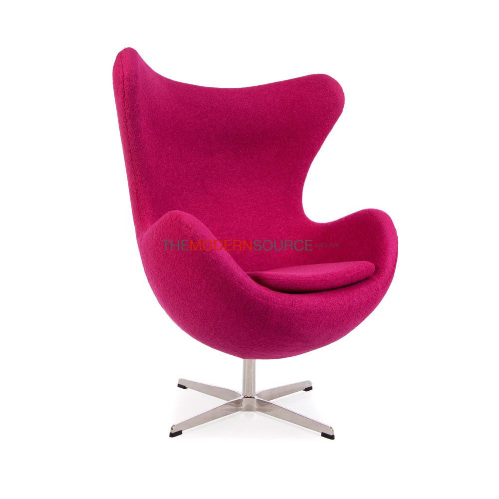 Gentil ... Egg Chair Reproduction ( Wool )   The Modern Source   7