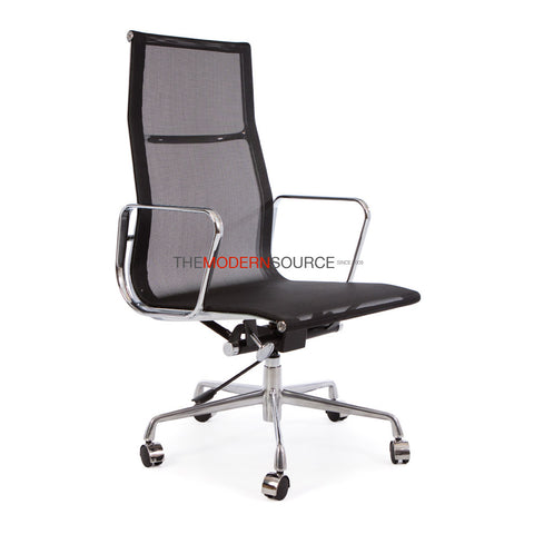 Eames Highback Management Chair Reproduction   Mesh   The Modern Source