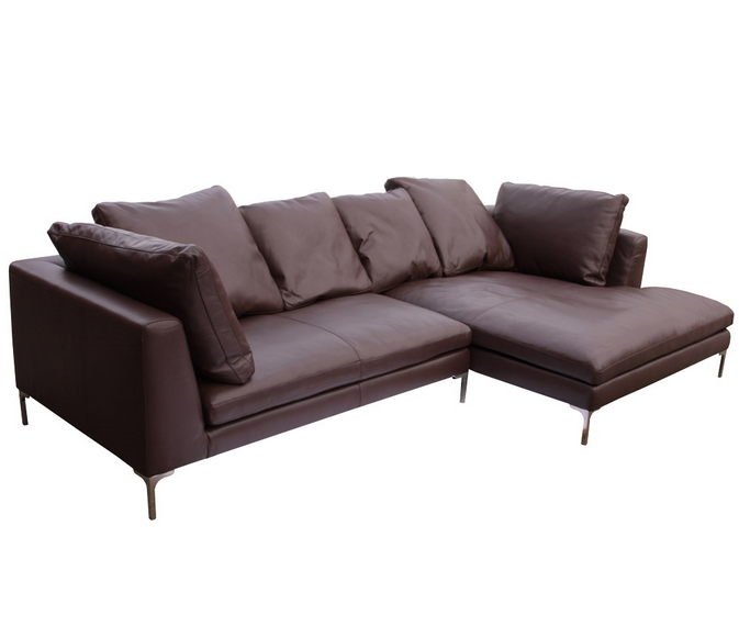 Charles large sectional reproduction