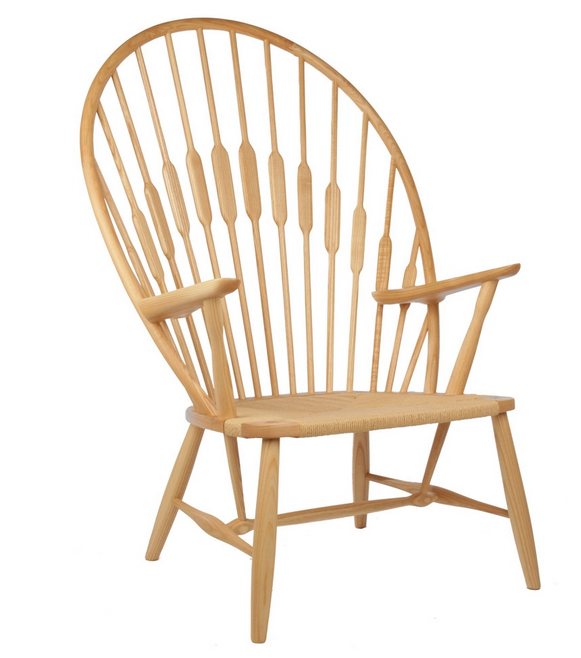 Superbe Hans Wegner Peacock Chair Reproduction   The Modern Source   1 ...