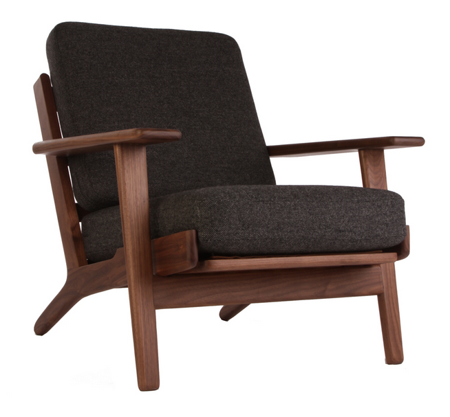 hans wegner plank armchair reproduction the modern source
