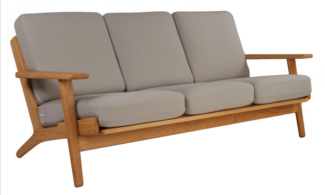 Hans Wegner Plank Sofa Reproduction   The Modern Source   1 ...