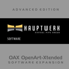 HAUPTWERK (Milan Digital Audio) Hauptwerk -Advanced Virtual Pipe Organ for OAX