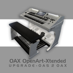 Upgrade: Scala GS700 OAS to Sonic OAX800 (2 x 61 Note Keyboards)