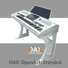 Sonic OAX-1 Deluxe keyboard stand