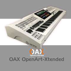 Sonic OAX-1 Arranger Work Station Keyboard
