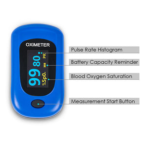 Blood Fingertip Pulse Oximeter