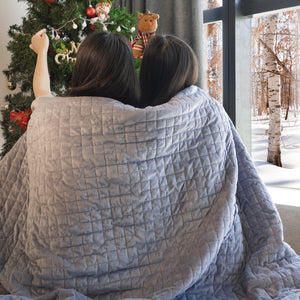 Adult Weighted Blanket With Cover