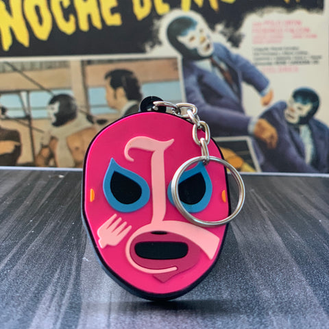Lucha Libre Mask Keychain