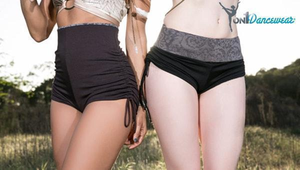 High Waisted Women's Booty Shorts at Beyond the Barre