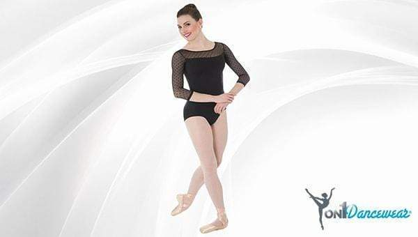 New 2-toned leotards by Body Wrappers. Available at Beyond the Barre