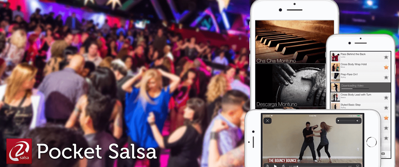 Pocket Salsa- Free- iOS & Android
