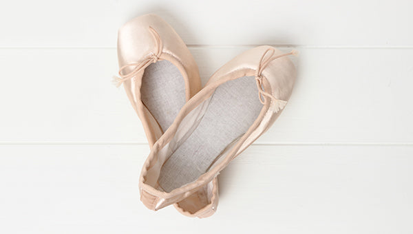 Parts of Pointe Shoes