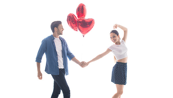 Valentine's Day Dance by Couple