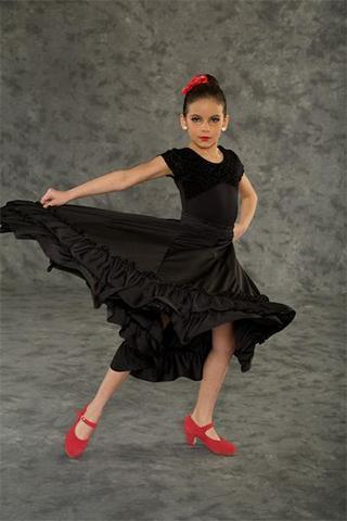 Children's Flamenco Skirt Bal-togs flamenco skirt